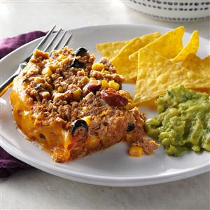 Taco Meat Loaves Recipe
