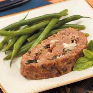 Prosciutto-Stuffed Meat Loaf Recipe