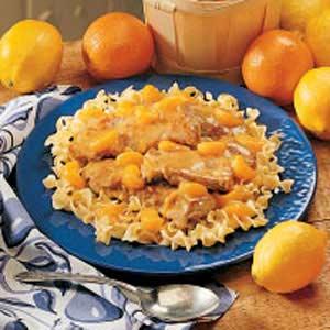 Mandarin Pork Medallions Recipe