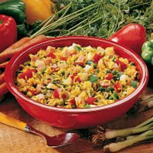 Hearty Rice Salad Recipe