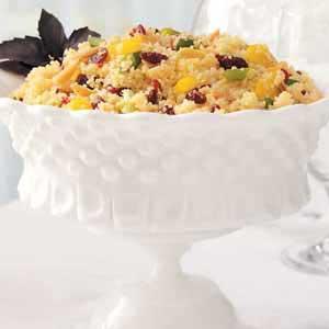 Cranberry-Nut Couscous Salad Recipe