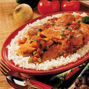 Curry Chicken Dinner Recipe