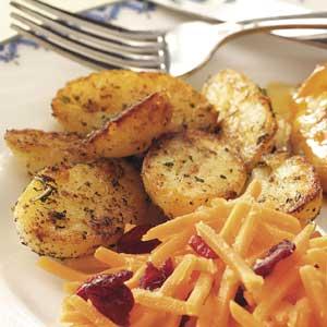 Favorite Herbed Potatoes Recipe