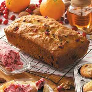 White Chocolate Cranberry Bread Recipe