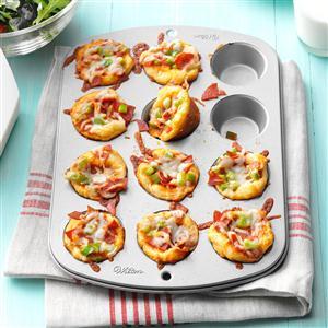 Mini Pizza Cups Recipe