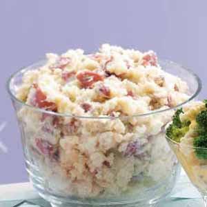 Mashed Red Potatoes Recipe