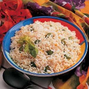 Orange Rice Pilaf Recipe