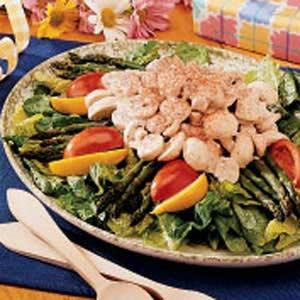 Asparagus Mushroom Salad Recipe