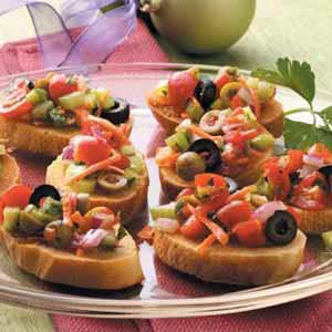 Olive Bruschetta Recipe