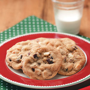 Cranberry-Cashew Drop Cookies Recipe