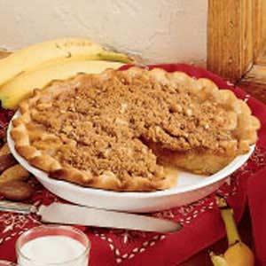 Banana Streusel Pie Recipe