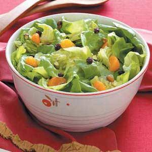 Pistachio Lettuce Salad Recipe