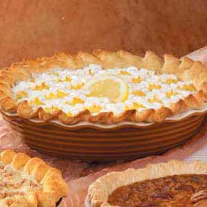 Lemon Ice Cream Pie Recipe