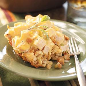 Chicken 'n' Dressing Casserole Recipe
