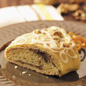 Walnut-Filled Coffee Cakes Recipe