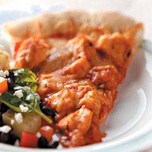 Enchilada Chicken Pizza Recipe