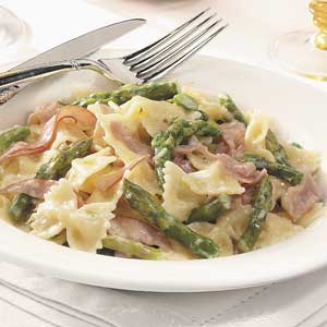 Bow Ties with Asparagus and Prosciutto Recipe