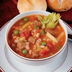 Roast Beef and Barley Soup