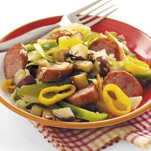 Smoked Sausage and Veggies Recipe