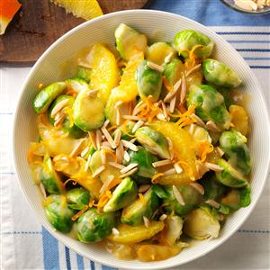 Saucy Sprouts and Oranges Recipe