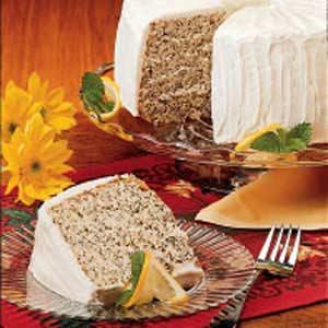 Poppy Seed Chiffon Cake Recipe