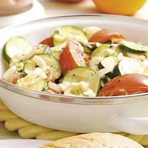 Zucchini Mozzarella Medley Recipe