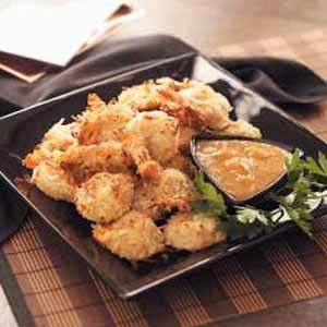Coconut Shrimp with Dipping Sauce Recipe