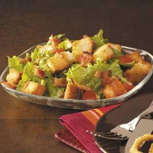 BLT Bread Salad Recipe