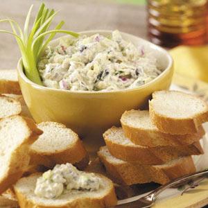 Olive Zucchini Spread