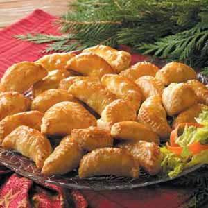 Contest-Winning Curried Chicken Turnovers Recipe