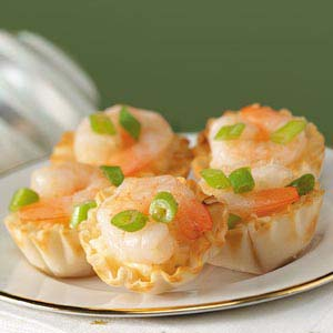 Grits 'n' Shrimp Tarts Recipe