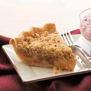 Cinnamon Apple Crumb Pie Recipe