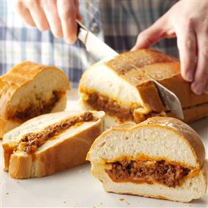 Stromboli Sandwiches Recipe