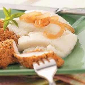 Cauliflower Puree with Onions Recipe