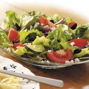 Zesty Greek Salad Recipe