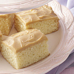 OldFashioned Yellow Cake Recipe Taste of Home
