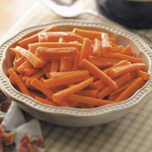Glazed Julienned Carrots Recipe