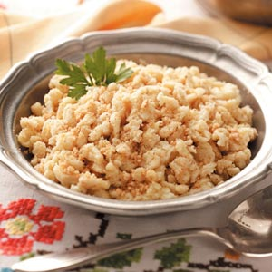 Crumb-Coated Spaetzle Recipe