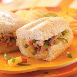 Hawaiian Ham Sandwiches Recipe