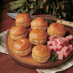 Ham Buns Recipe