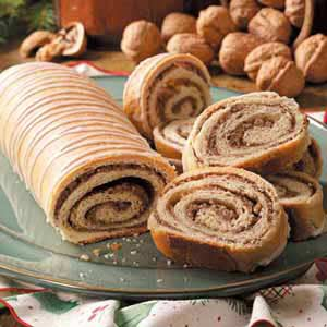 Maple Walnut Rolls Recipe
