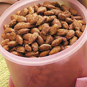 Cinnamon Toasted Almonds Recipe
