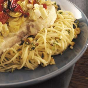 Angel Hair with Walnuts Recipe