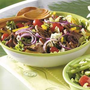 Savory Pork Salad Recipe