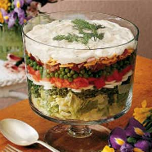 Layered Lettuce Salad Recipe