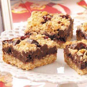 Chocolate Raspberry Squares