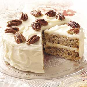 Vermont Maple-Pecan Cake Recipe