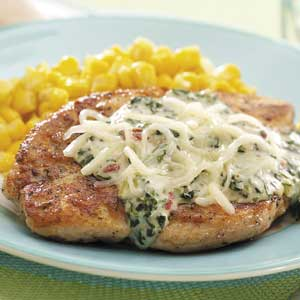 Chicken with Florentine Sauce Recipe