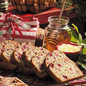 Cranberry-Nut Poppy Seed Bread Recipe