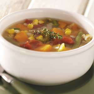 Barley Vegetable Soup Recipe